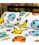 Pokemon Rocks Licensed Double to Queen Quilt Cover Set POLYESTER