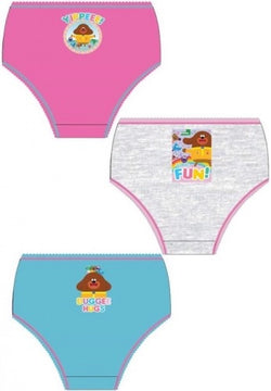 HEY DUGGEE GIRLS - 3 pack Underwear Undies