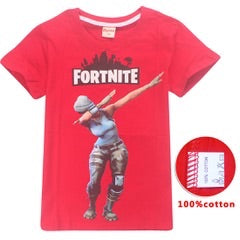 Fortnite tshirt - tee only - Red dab