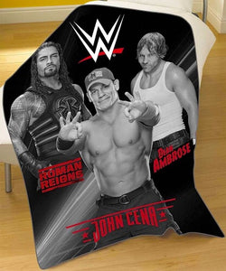 WWE Throw Size Fleece Blanket