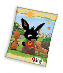 Bing Bunny Throw Size Fleece Blanket