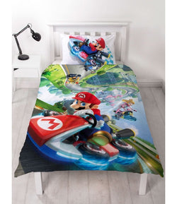 PRE ORDER Mario Single Quilt Cover Set