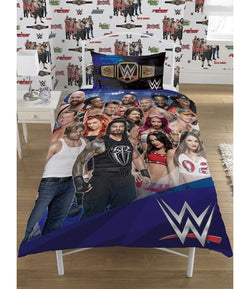 WWE Single quilt cover set