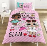 LOL Surprise Doll Single Quilt Cover Set