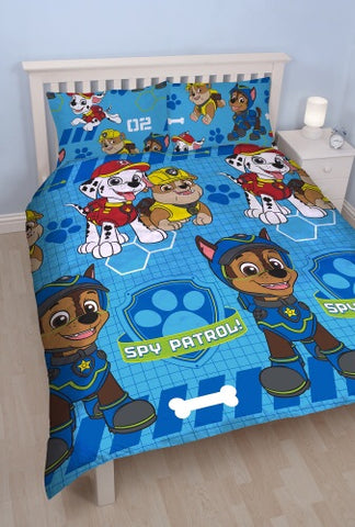 PRE ORDER Double to Queen Quilt Cover Set - Paw Patrol