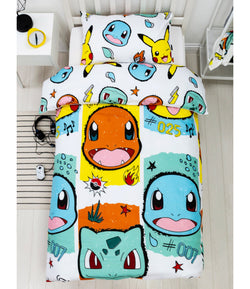 Pokemon Rocks Single Quilt Cover Set POLYESTER