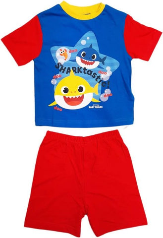 Baby Shark Blue Summer Pjs Pyjama 2/3 years left