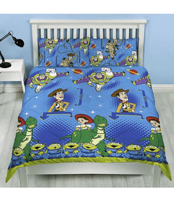TOY STORY POLYESTER Double to Queen Quilt Cover Set