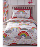 Rainbow Single Quilt Cover Set
