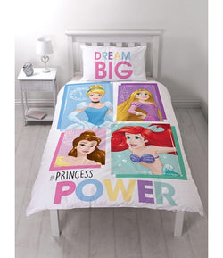 Princess mermaid Single Quilt Cover Set
