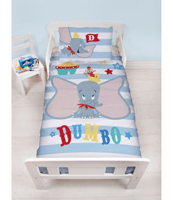 DUMBO - Toddler Bed/Cot Quilt Cover Set