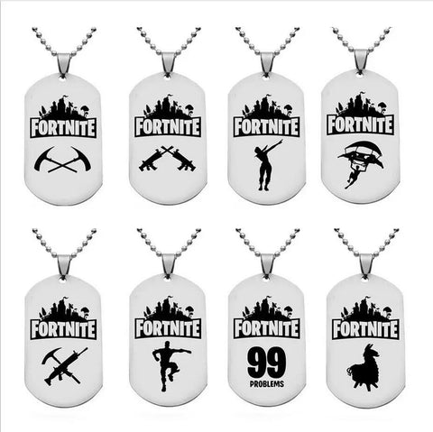 Fortnite necklace - randomly selected