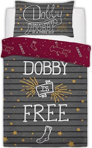 Harry Potter Dobby Single Quilt Cover Set