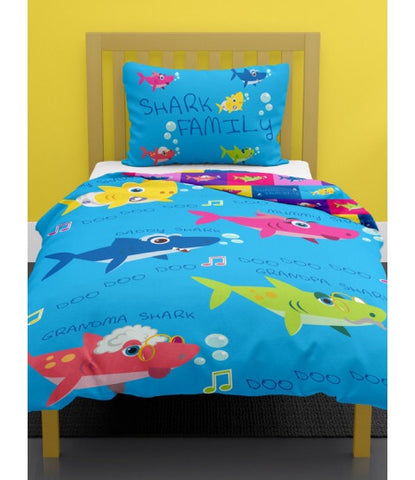 Baby Shark Single Quilt Cover Set