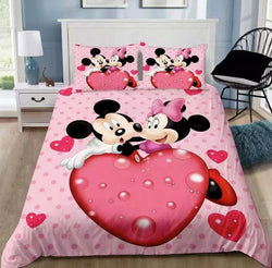 PRE ORDER Minnie Mouse Quilt Cover Set