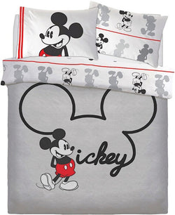PRE ORDER Mickey Mouse Double to Queen Quilt Cover Set