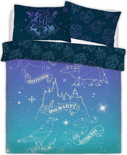 PRE ORDER Harry Potter Magic Double to Queen Quilt Cover Set
