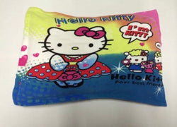 Faux mink pillow case - HELLO KITTY