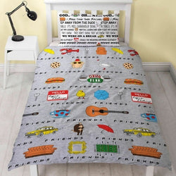 Friends Single Quilt Cover Set