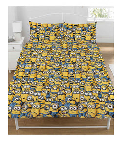 MINION Reversible Double To Queen Quilt Cover Set