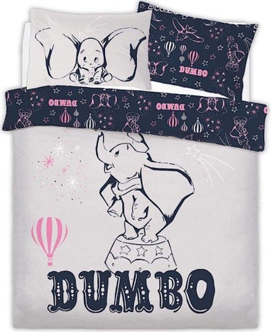 PRE ORDER Dumbo Double to Queen Quilt Cover Set