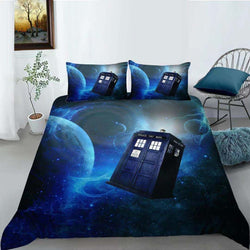 PRE ORDER Dr Who Quilt Cover Set