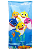 Baby Shark Licensed Towel