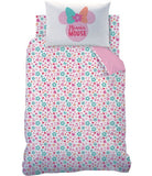 PRE ORDER MINNIE MOUSE - Toddler Bed/Cot Quilt Cover Set