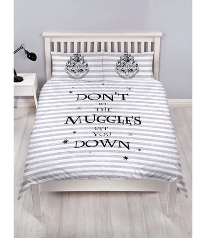PRE ORDER Harry Potter Double to Queen Quilt Cover Set