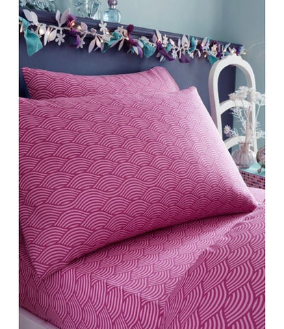 MERMAID Single fitted sheet & Pillowcase