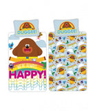 PRE ORDER Hey Duggee Happy Single Quilt Cover Set