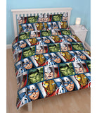 Double to Queen Quilt Cover Set POLYESTER- AVENGER MARVEL