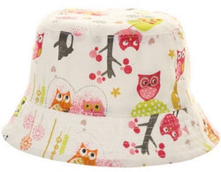 Baby Toddler Bucket Hat ~ Owl