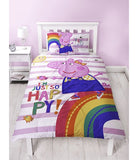 Peppa Pig Single Quilt Cover Set