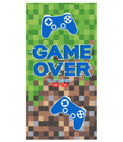 Game Over Towel