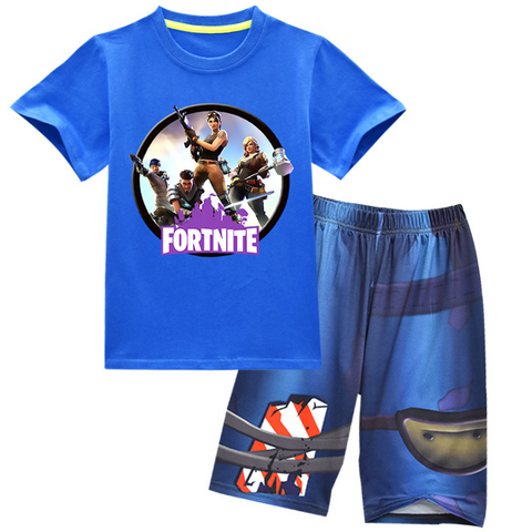 Fortnite outfit / pjs - Blue top