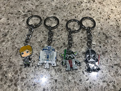 Star Wars keyring $4 ea BOY LEFT