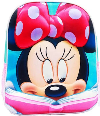 Backpack small 3D Minnie
