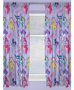 PRE ORDER My little pony Curtains 72 inch drop
