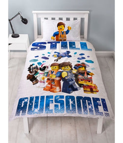 Lego Movie Single Quilt Cover Set