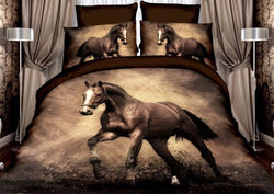 PRE ORDER Horse Quilt Cover Set