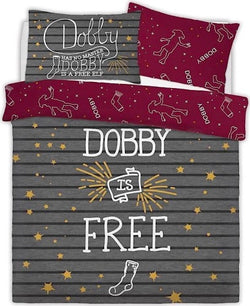 Harry Potter Dobby Double to Queen Quilt Cover Set