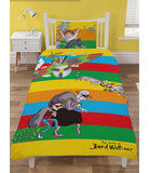 PRE ORDER The World Of David Walliams Licensed Single Quilt Cover Set