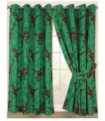 PRE ORDER Dinosaur Jurassic Curtains 72 inch drop