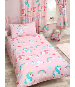 Unicorn - Toddler Bed/Cot Quilt Cover Set