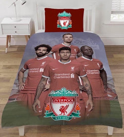"Liverpool FC ""Reversible"" Football Single Quilt Cover Set"