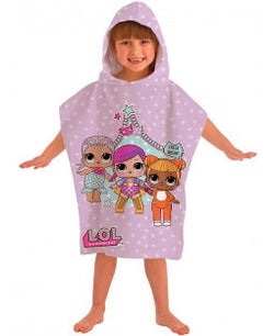 Hooded towel - lol dolls