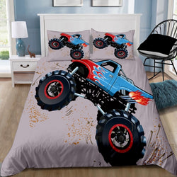 Monster Truck Quilt Cover Set