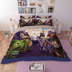 PRE ORDER Plants vs Zombies Quilt Cover Set