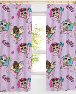 PRE ORDER LOL DOLL Curtains 54 inch drop